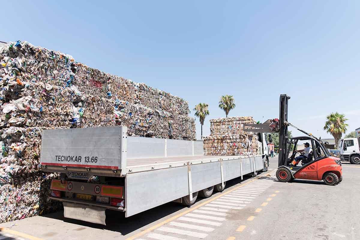 impianto Ecoross per riciclaggio rifiuti