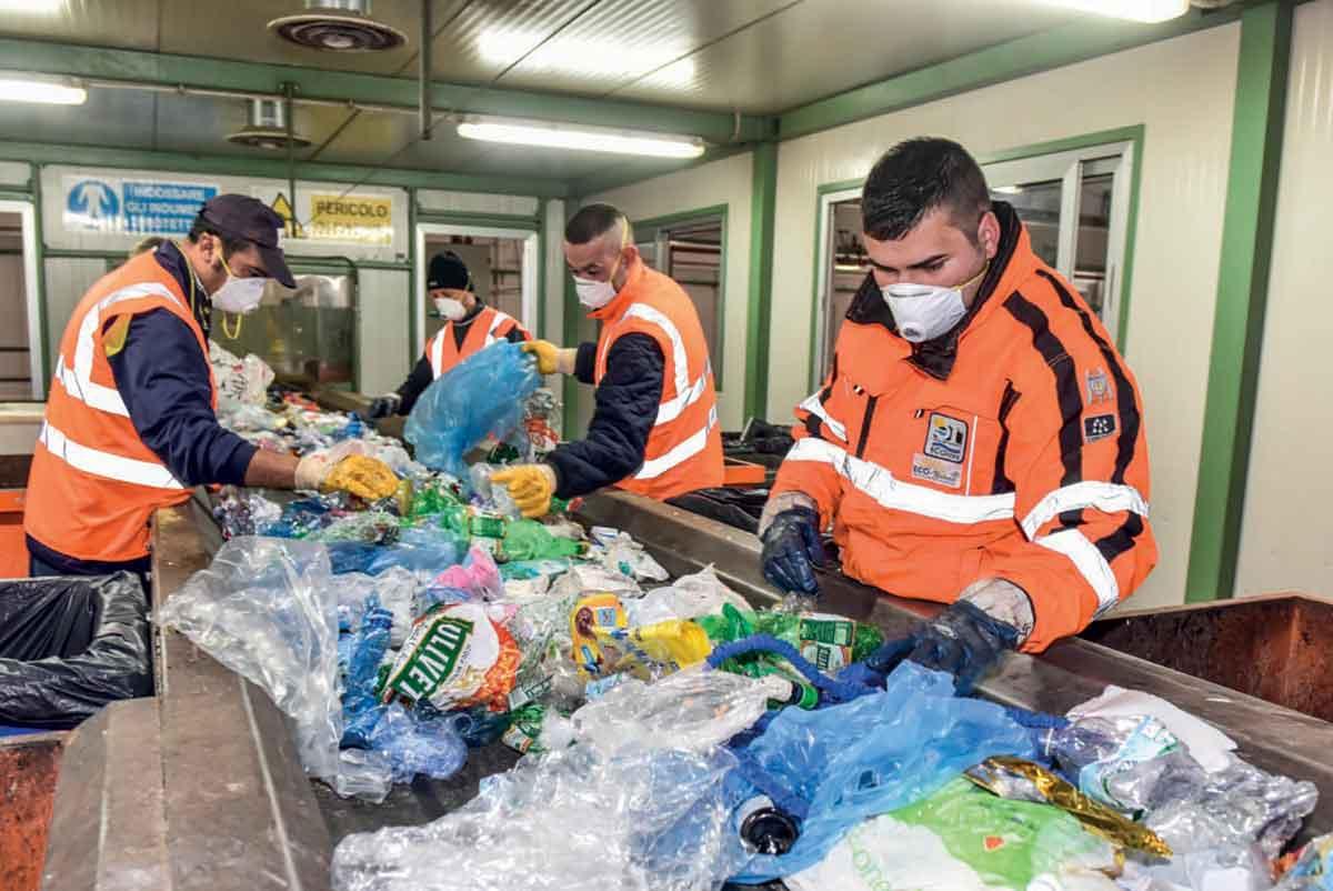 impianto Ecoross per il trattamento dei rifiuti