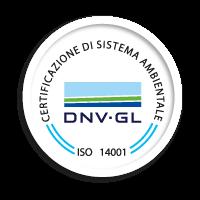 icona certificazione sistema sicurezza ISO 14001:2015