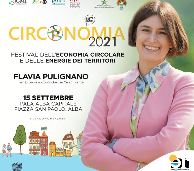 ECOROSS A #CIRCONOMIA, IL FESTIVAL DELL'ECONOMIA CIRCOLARE